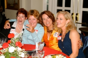 Janice, Anne, Liz, and Marilyn-40th Reunion